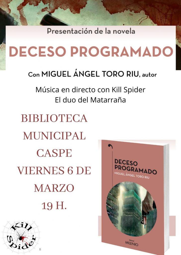 Presentación del libro en Caspe