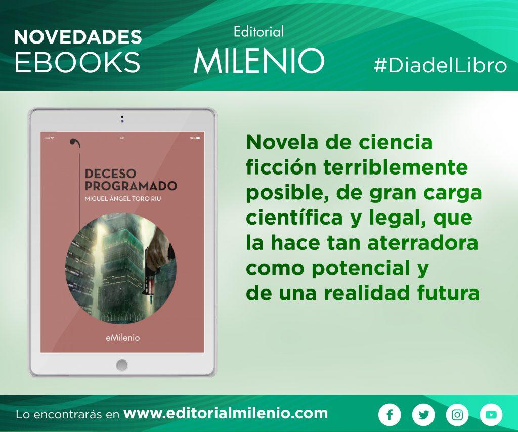 banner dia del libro milenio 2020 deceso